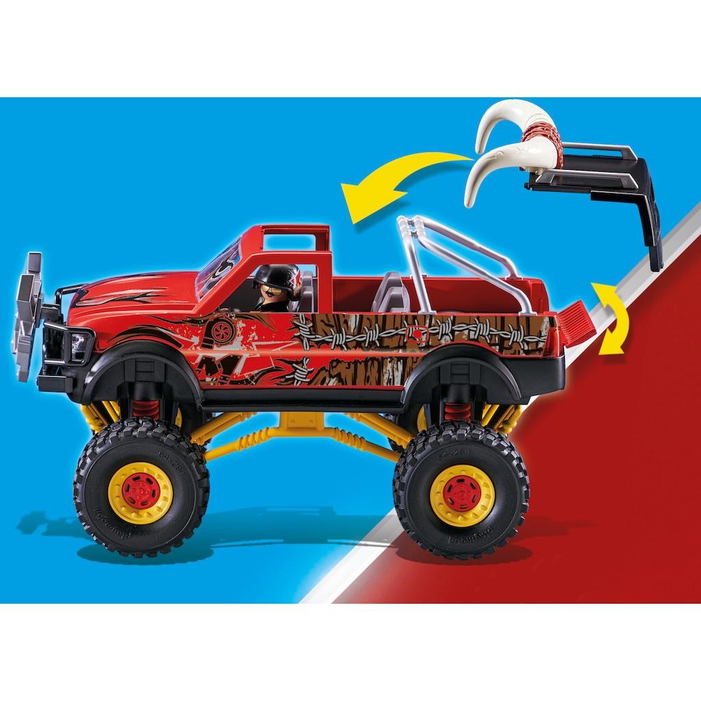 Playmobil® Konstruktions-Spielset »Monster Truck Horned (70549), Stuntshow«, (57 St.)