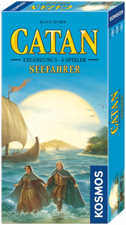 """Kosmos Spiel """"Erweiterungsspiel Catan 5 - 6 Spieler Seefahrer"""" Technik & Freizeit/Spielzeug/Altersempfehlung/Ab 9-11 Jahren"""