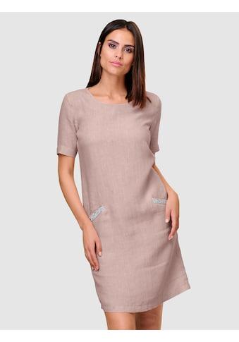Alba Moda Kleid aus reiner sommerlicher Leinenqualität kaufen