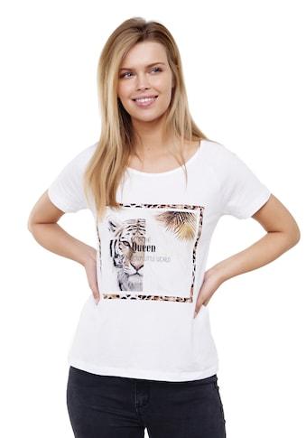 Decay T-Shirt »Tiger«, mit coolem Tiger-Motiv kaufen