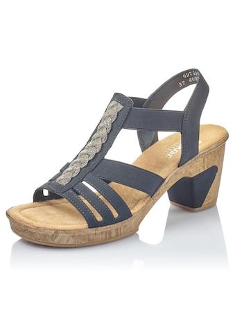 Rieker Sandalette, mit Stretcheinsätze kaufen