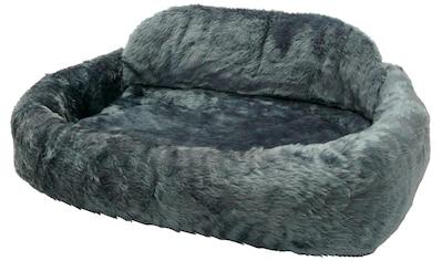 SILVIO design Tierbett »de Luxe mit Kissen Gr. 1«, BxLxH: 75x45x21 cm, blau kaufen