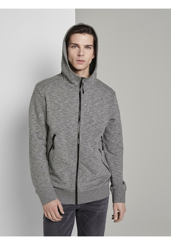 TOM TAILOR Denim Longsweatshirt »Sweatjacke mit Kapuze« kaufen