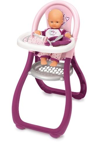 Smoby Puppenhochstuhl »Baby Nurse Puppenhochstuhl«, Made in Europe kaufen