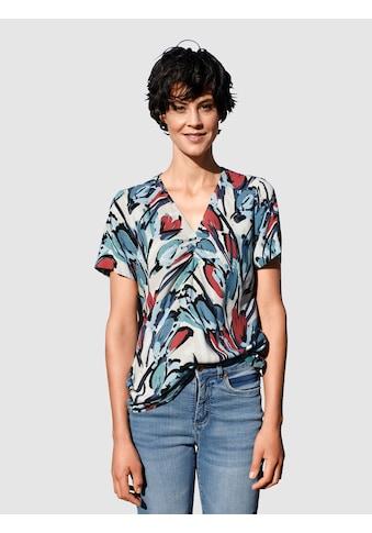 Dress In Bluse mit modernem Druck kaufen