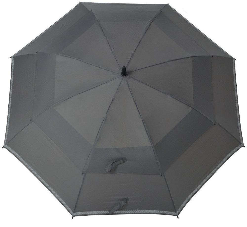 doppler Stockregenschirm ´´Fiber Golf Reflex Automatic´´   Accessoires > Regenschirme > Sonstige Regenschirme   Grau   Polyester   Doppler