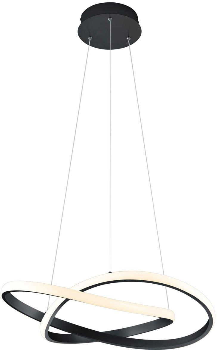 TRIO Leuchten LED Pendelleuchte LED-Pendel MIRA, LED-Board, 1 St., Warmweiß, Hängeleuchte, Switch Dimmer