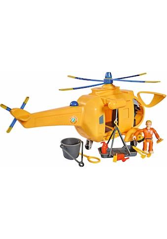 """SIMBA Spielzeug - Hubschrauber """"Feuerwehrmann Sam, Hubschrauber Wallaby II mit Figur und Sound"""" kaufen"""