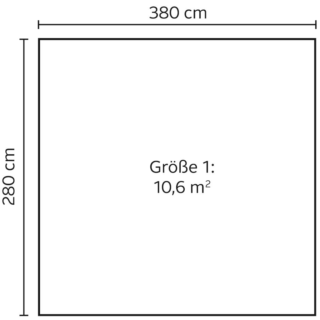Nordic Holz Gartenhaus »Nienstedten 1«