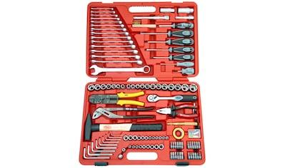 FAMEX Werkzeugkoffer »136 - 20«, 197 - tlg. Universal - Set, geeignet für Kfz kaufen
