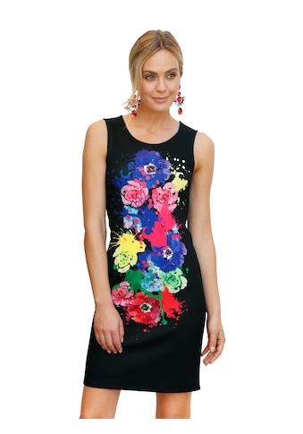 Amy Vermont Minikleid, mit großflächigem Farbklecks vorne kaufen