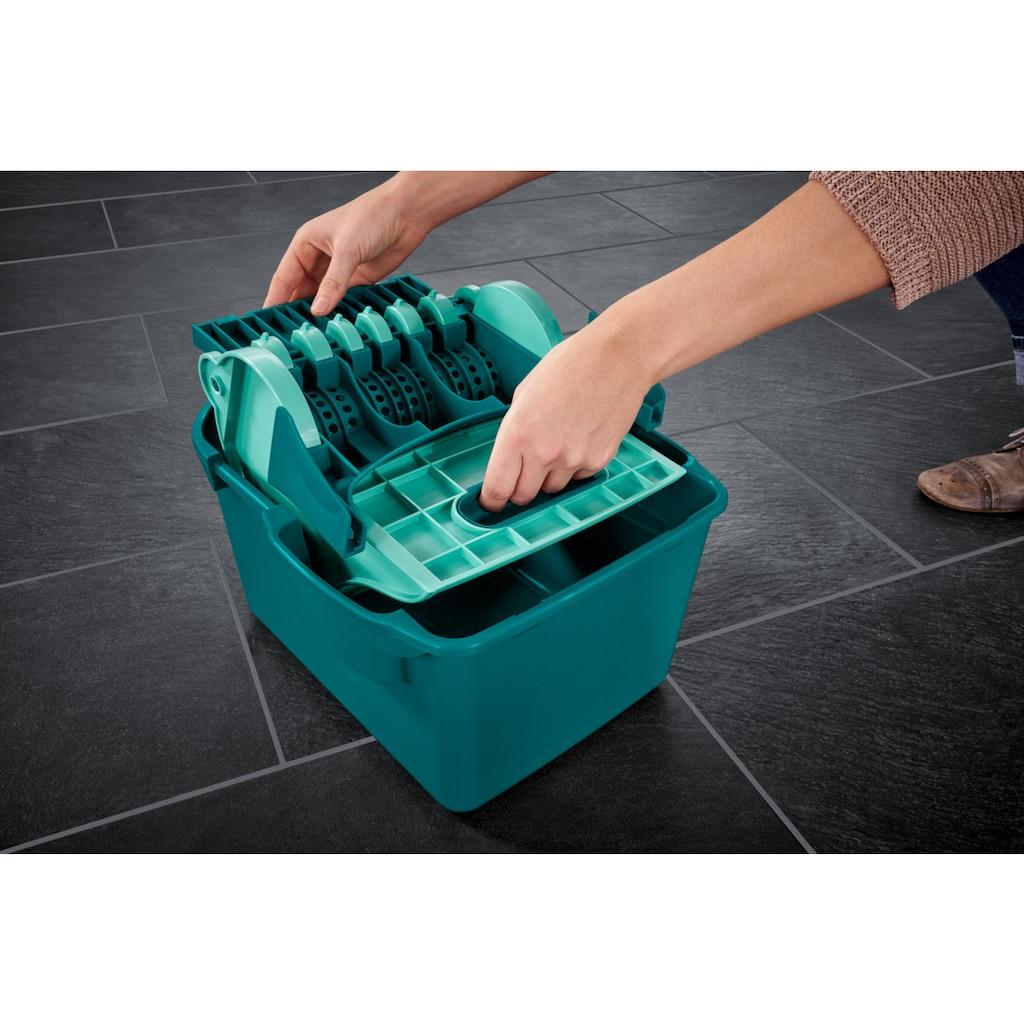 Leifheit Bodenwischer-Set »Set Wischtuchpresse Profi Compact«