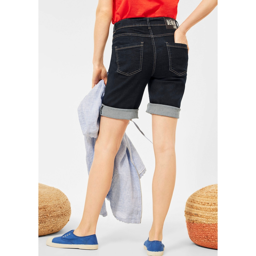 Cecil Shorts »Style Toronto«, mit kontrastfarbenen Nähten