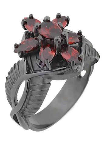 Der Herr der Ringe Fingerring »Dark Years Collection Arwens Abendstern - schwarz rot,... kaufen