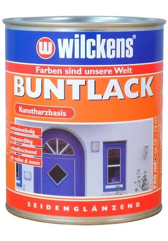 Wilckens Farben Kunstharzlack »Buntlack seidenglänzend«, Aromatenfreier Kunstharz-Lack kaufen