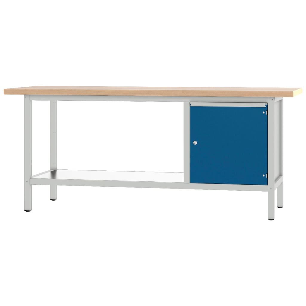 PADOR Werkbank »31 S 004«, Höhe/Länge: 85,5x200 cm