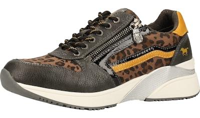 MUSTANG Sneaker »Lederimitat/Textil« kaufen