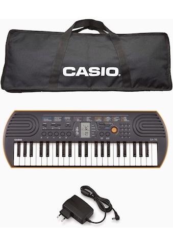 CASIO Keyboard »Mini-Keyboard SA-76« kaufen