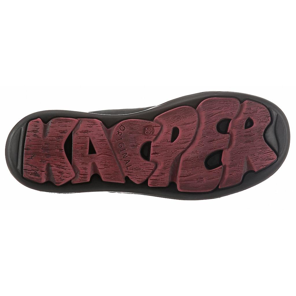 KACPER Schnürschuh, mit leicht profilierter Laufsohle