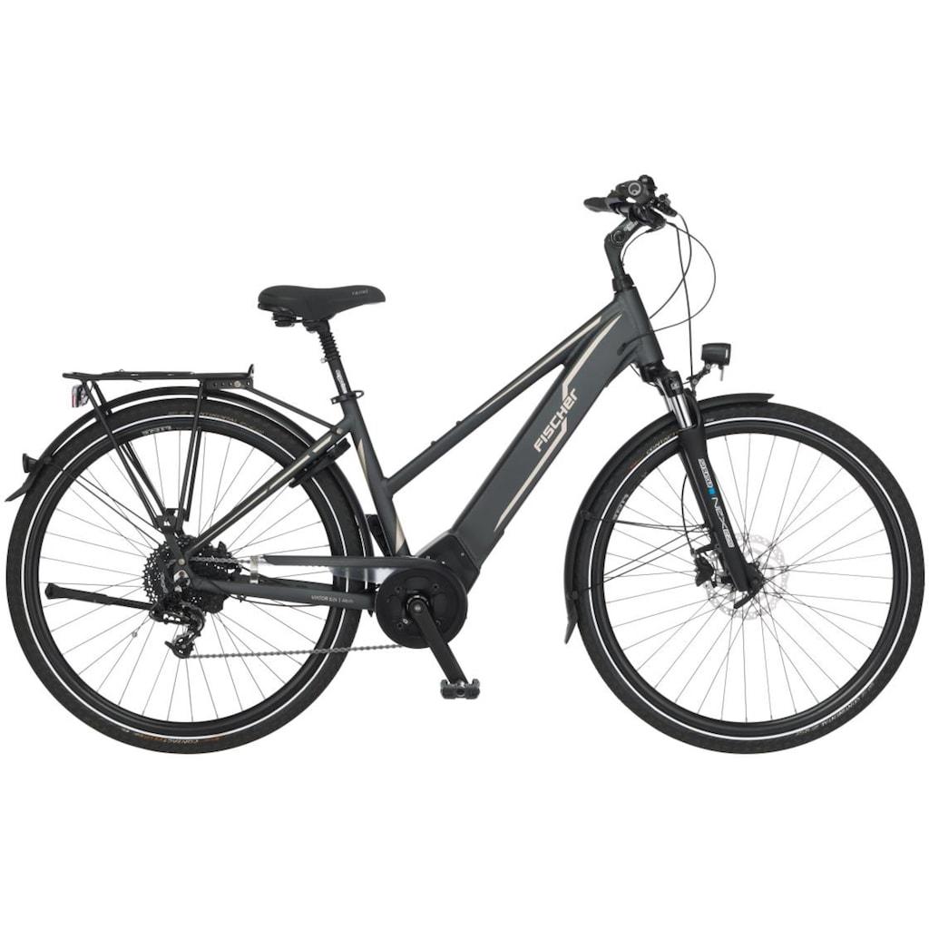 FISCHER Fahrräder E-Bike »VIATOR D 5.0i«, 10 Gang, SRAM, GX10, Mittelmotor 250 W