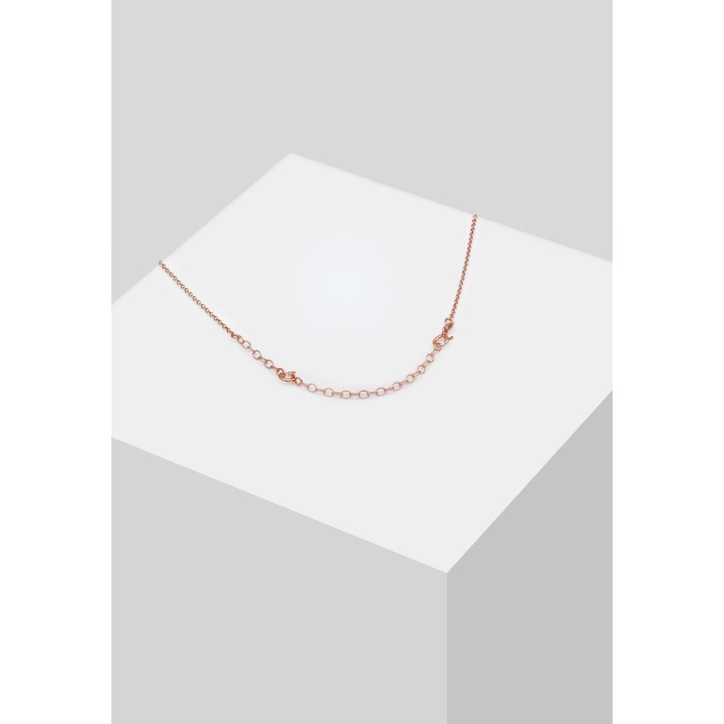 Elli Gliederkette »Verlängerung Gliederkette Basic 925 Silber«