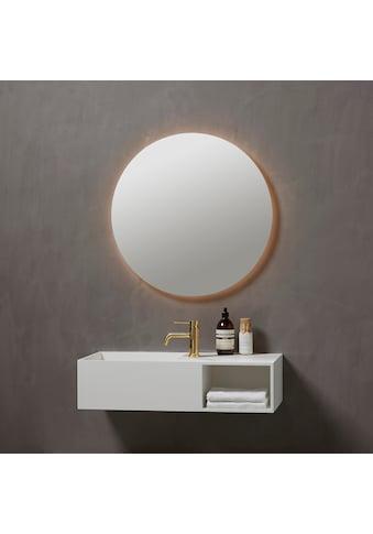 Badspiegel »Herning Rund«, Ø 70 cm, mit LED Beleuchtung kaufen