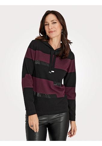 Mona Kapuzenpullover, mit platziert gestricktem Ringel kaufen