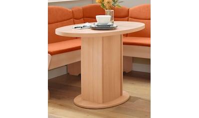 my home Säulen-Esstisch »Apollon 1«, Breite 110 cm, oval kaufen
