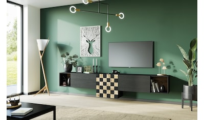 TRENDMANUFAKTUR Wohnwand »Square Dance«, (Set, 3 St.) kaufen