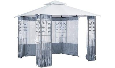 KONIFERA Seitenteile für Pavillon mit Fenster für Pavillon »Blätter«, grau kaufen