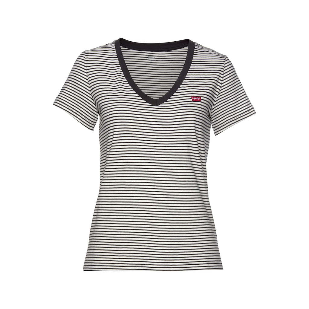 Levi's® V-Shirt, mit Mini-Batwing-Logostickerei