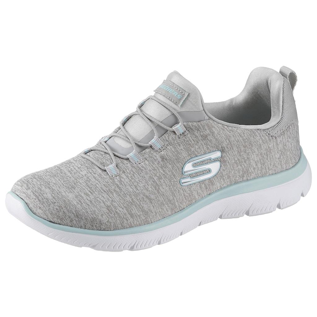 Skechers Slip-On Sneaker »Summits-Quick Getaway«, mit Gummiband