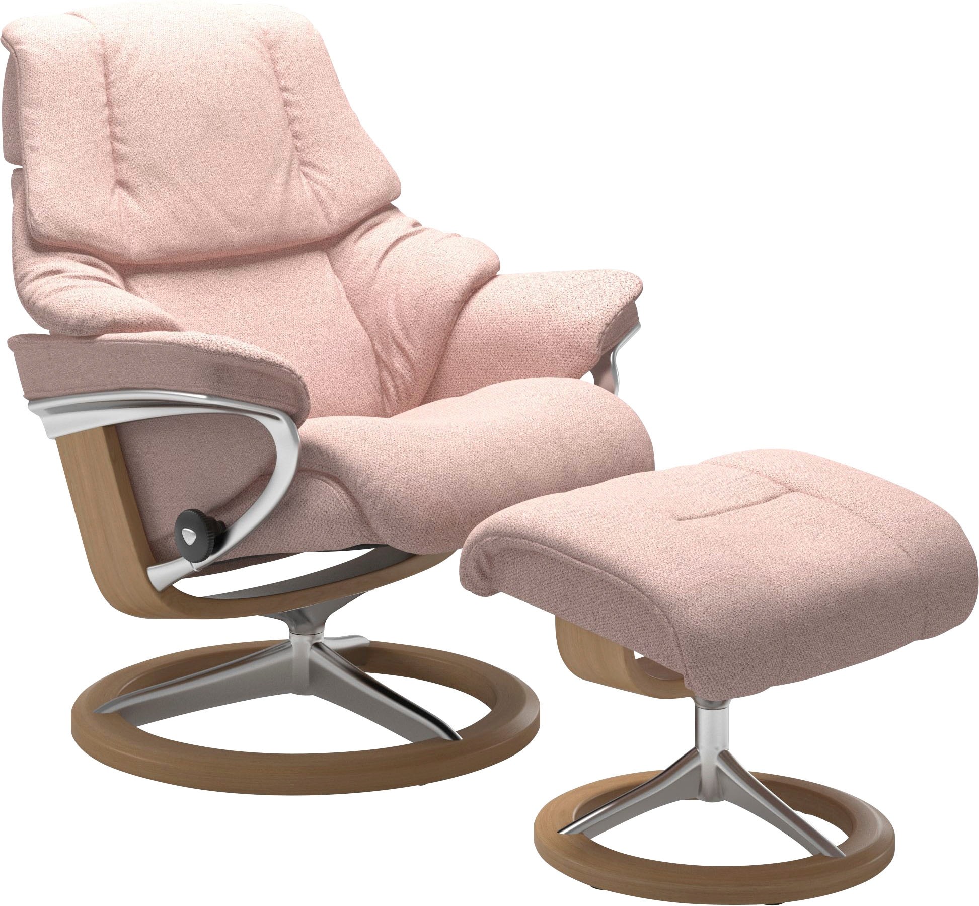 rosa pink eiche Polsterhocker online kaufen | Möbel