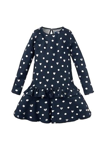 TOM TAILOR A - Linien - Kleid »Gemustertes Kleid mit Volant« kaufen