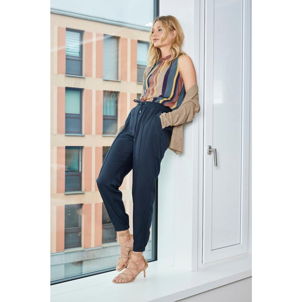 Aniston CASUAL Strickjacke, mit Ajourstrickmuster