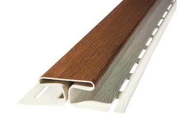 Baukulit VOX Verbindungsprofil »SOFFIT Nussbaum«, für Dachüberstand, je 1,525 m kaufen