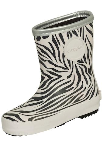 DRUPPIES Gummistiefel »Zebra«, für Kinder kaufen