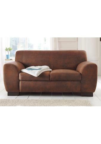 Home affaire Sofa »Nika«, 2 oder 3- Sitzer in Microfaser MELROSE kaufen