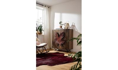 Home affaire Sideboard »Maple«, Griff in Form eines Ahornblattes, handgefertigt, aus... kaufen