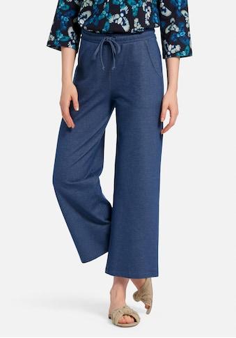 Green Cotton Dehnbund-Hose »Knöchellange Hose«, mit Bindeband kaufen