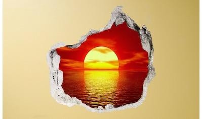 Conni Oberkircher´s Wandsticker »Sundowner«, selbstklebend kaufen