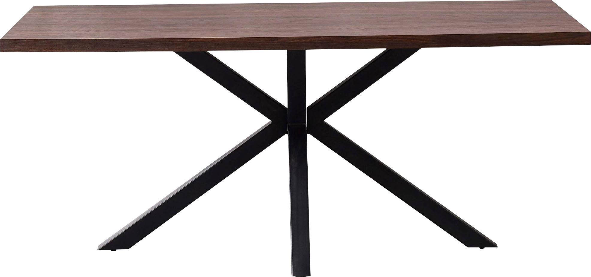 my home Esstisch Marla braun Holz-Esstische Holztische Tische
