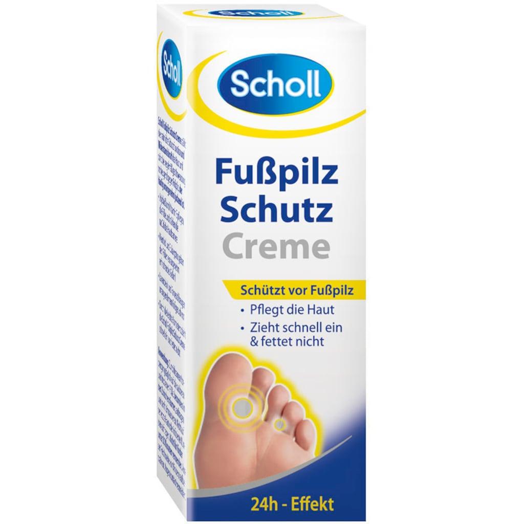 Scholl Fußpflegecreme »Fußpilz Schutzcreme«, (Spar-Set, 6 tlg.)