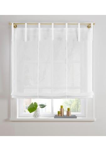 Guido Maria Kretschmer Home&Living Raffrollo »TENDER«, mit Bindebänder, transparent,... kaufen