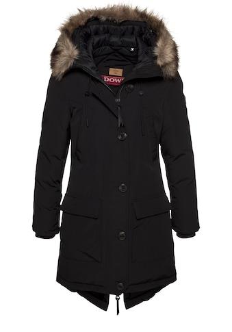 Superdry Winterjacke »ROOKIE DOWN PARKA«, Winterparka mit geschnürtem Gehschlitz an... kaufen
