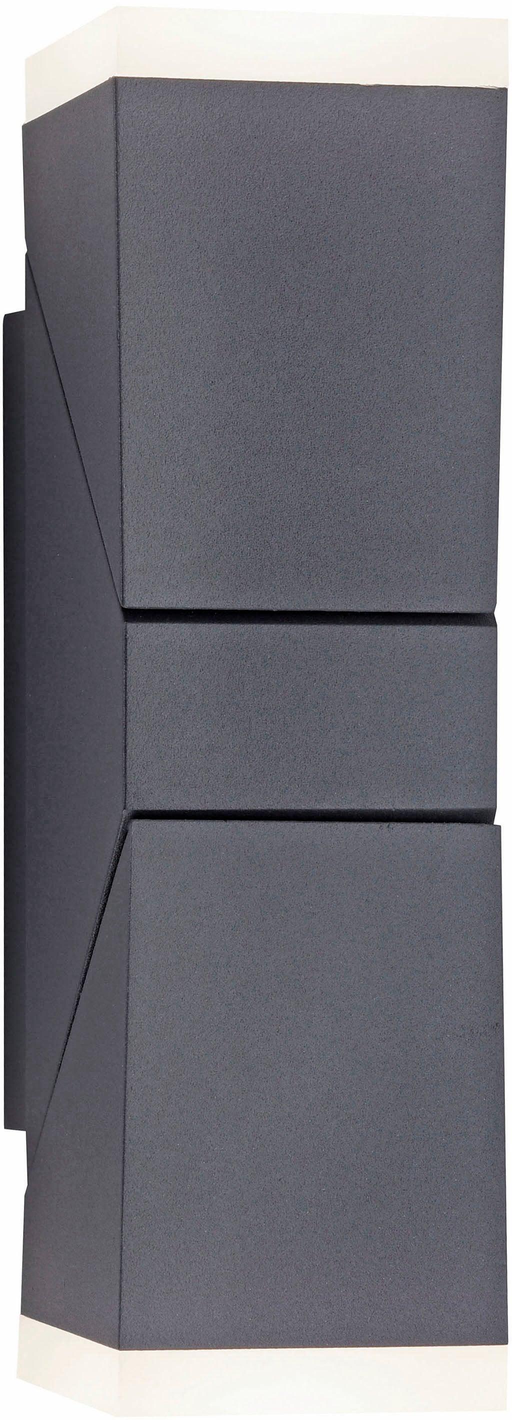Paul Neuhaus LED Außen-Wandleuchte Ryan, LED-Board, 1 St., Warmweiß, Schutzart IP, Für Außen- und Innenbereich