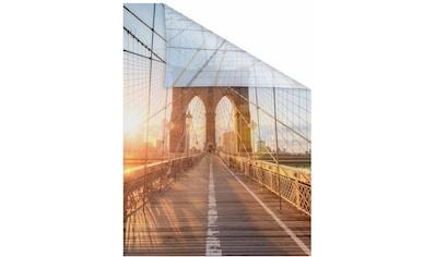 LICHTBLICK Fensterfolie »Brooklyn Bridge«, selbstklebend, Sichtschutz kaufen