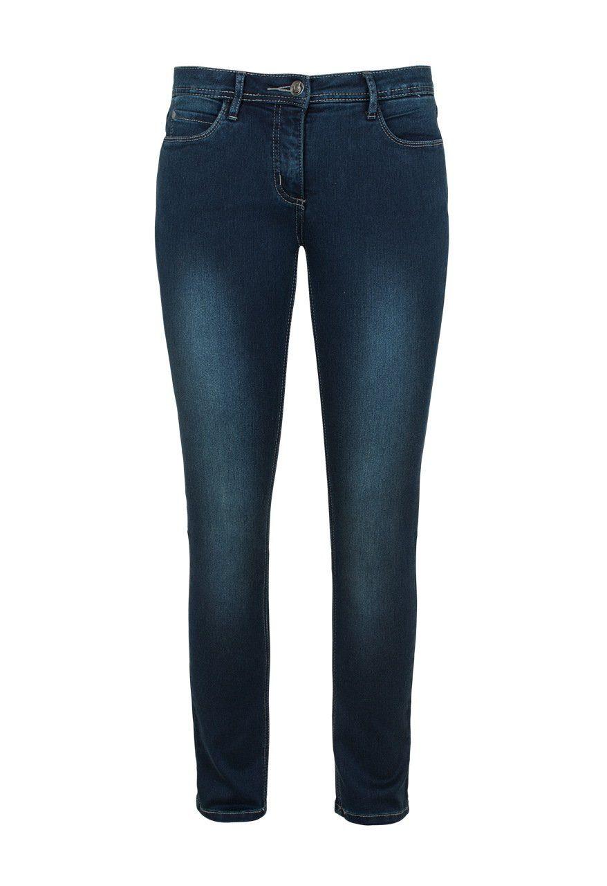 MILLION-X Röhrenjeans VICTORIA POWER   Bekleidung > Jeans > Röhrenjeans   Blau   Million-X