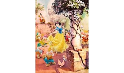 KOMAR Set: Fototapete »Dancing Snow White«, Ausgezeichnet lichtbeständig kaufen