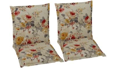 GO - DE Sesselauflage , (2er Set), (L/B): 100x50 cm kaufen